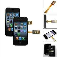 for iPhone 5 5S 6   Dual Cellphone SIM Card Single Standby Adapter Converter BO