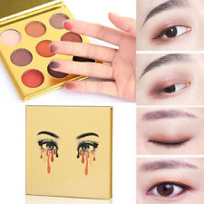 9 Colors Eye Shadow Makeup Cosmetic Shimmer Matte Eyeshadow Palette Gold Set New
