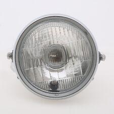 """Universal 6"""" 6V Amber Headlight Head Lamp For Harley Choppers Bobber Cafe Racer"""