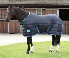 "Bnwt 4'9"" Shires Tempest 100g Stable Rug black 4ft 9 ( 9333 )"