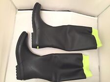 Rachel Rachel Roy Nyah Women's Size 11 M Black Rain Boots New in Box