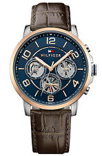 TOMMY HILFIGER Multifunktion Herrenuhr 1791290