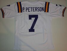 PATRICK PETERSON - HAND SIGNED FOOTBALL JERSEY AUTHENTIC AUTOGRAPH  w/ COA