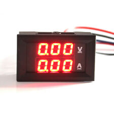 LED Mini Digital Voltmeter 4.5-30V Panel-Meter LCD Spannungsanzeige Rot Blau 10A