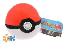 "Pokemon Classic POKE BALL 5"" Soft Takara Tomy Cosplay Pokeball Plush ""NEW"""