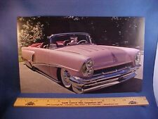 1956 Mercury Montclair/Monterey custom convertible calendar picture--EZ frame 56