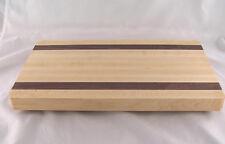 "The Vermont Butcher Block & Board Maple Walnut Cutting Board 16"" X 9"""