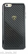 LAMBORGHINI CARBON FIBER IPHONE 6/6S ELEMENTO D2 BACK CASE COVER BLACK