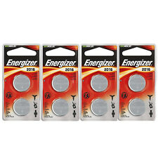 Energizer CR2016 Coin Cell 2-Pack, 4 Count = 8 Batteries