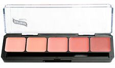 Graftobian HD Glamour Creme Palette, Blush, All Skin Types, Cruelty Free