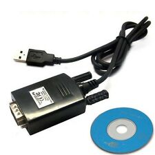 USB to RS232 Serial Cable COM DB 9 Pin Lead with driver for Window 7 US STOCK!