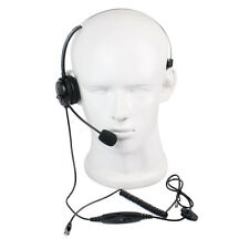 Neu 4-Pins RJ9 Call Center Monaural crystal head telephone Monaural Headset
