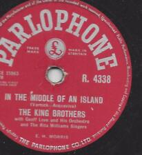 The King Brothers 1958 : Rockin shoes + In the middle of the Island