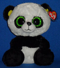 "TY BEANIE BOOS BOO'S - BAMBOO the 9"" PANDA - MINT with MINT TAG"