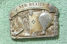 NEW MEXICO 1983 COMMERATIVE BELT BUCKLE LIMITED EDITION 463 OF 5000