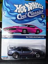 Hot Wheels Cool classics1984 Ford Mustang SVO Fox Body