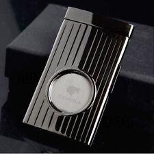 COHIBA Top Quality Single Blade Guillotine Cigar Cutter Tool