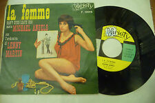 "MICHAEL ANGELO""LA FEMME-disco 45 giri VARIETY It 1967"" SEXY COVER/ BEAT It"