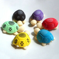 Cute Colorful Turtle Shape Cleansing Rubber Eraser Stationary Kid Gift Toy Well