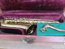 MARTIN THE MARTIN COMMITTEE TENOR SAXOPHONE 1948 VINTAGE SAX  CASE