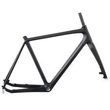 ICAN Full Carbon Cyclocross Frame 51cm BSA UD Matt Disc Brake Frameset
