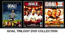 GOAL TRILOGY 2010 TRIPLE PACK PART 1 2 3 BRAND NEW AND SEALED UK REGION 2 DVD