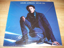 "RARE NEW David Jordan 12"" IMPORT Move On EP 4 Tracks includes REMIXES SEALED SS"