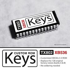 "CUSTOM XB536 ROM for YAMAHA TX802 "" Keys set "" Rhodes Clavi EP & Organ"