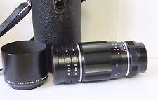 Tele Takumar 200mm 5.6 Telephoto Manual Prime Preset Lens Pentax  M42 Excellent