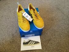 Adidas Originals Gazelle Ostrich pack Ltd Edition Mens size 12 yellow/white rare