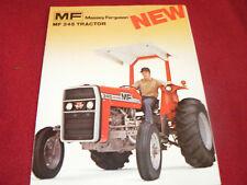 Massey Ferguson 245 Tractor Dealer's Brochure 769AG/576/25-1