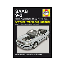 Saab 9-3 2.0 2.3 Petrol 2.2 Diesel 1998-02 (R to 02 Reg) Haynes Manual