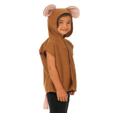 Children's Kids Boys Girls Zoo Farm Animal Tabard Fancy Dress Up Costume Outfit