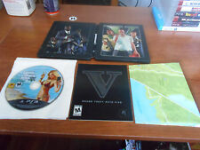 grand theft auto V collector edition steelbook case good shape PS3