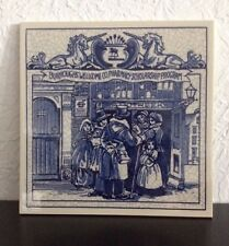 """""""The Apothecary Shop"""" 1992 Delft Porcelain Tile by Burroughs Wellcome Co."""