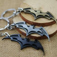 Hot Super Hero Dark Knight Batman Bat Metal Ring Keychain Pendant Key Chain V