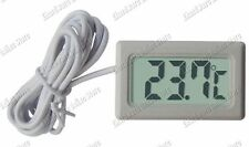 Insert Panel Mount Digital LCD Mini Thermometer -40ºC to 70ºC (DT-100SW)