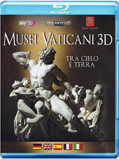 The Vatican Museums NEW Documentary Blu-Ray Disc Marco Pianigiani Italy