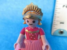Playmobil figure ROYAL PRINCESS IN PINK GOWN WITH CROWN 1998
