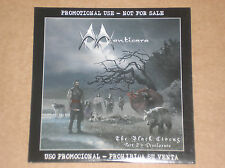 MANTICORE - THE BLACK CIRCUS: PART 2 DISCLOSURE - CD PROMO COME NUOVO (MINT)