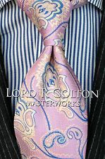 Lord R Colton Masterworks Tie - Trindade Ice Purple Silk Necktie - $195 New