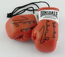 Autographed Mini Boxing Gloves Audley Harrison