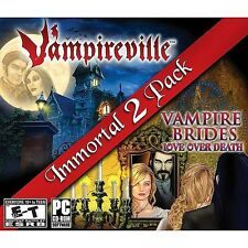 Vampireville & Vampire Brides Love Over Death PC Games Windows 10 8 7 Vista XP