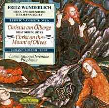 Beethoven - Christus Am Olberge, Christ on the Mount of Olives * NEW IMPORT CD