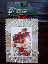 Victorian Inspired Santa Kids Father Christmas Carolers Tree Ornament Christmas