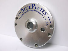 USED PENN ACCURATE REEL PART - Jigmaster 500 - Left Side Plate AccuPlate Silver