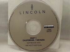 LINCOLN MAP 1 CALIFORNIA/NEVADA NAVIGATION DVD MAPS U.S. 2L7T-18C912-AB