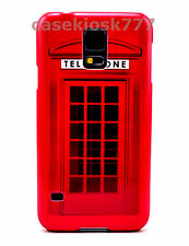 for Samsung galaxy S5 cool hard back case cover British red telephone booth