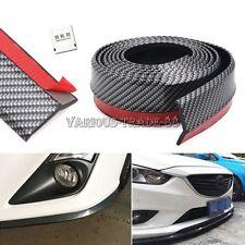 """100"""" Carbon Fiber Bumper Lip Splitter Body Spoiler Skirt Valance Chin Protector"""