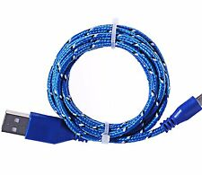 Long 3M USB Cable for iPhone 6 5S 5 6S Plus Data Charger Extension Blue Lead